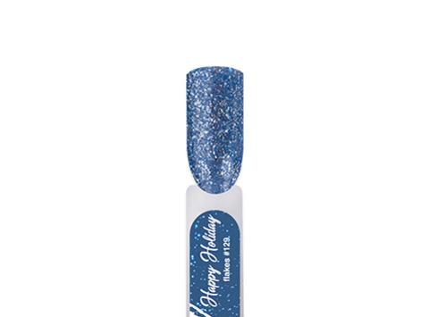 BF129-4 Гель-лак для покрытия ногтей. Happy Holiday #129 Синий иней