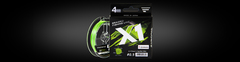 Шнур Favorite X1 PE 4x 150m (light green) #0.4/0.104mm 3.5kg/8lb