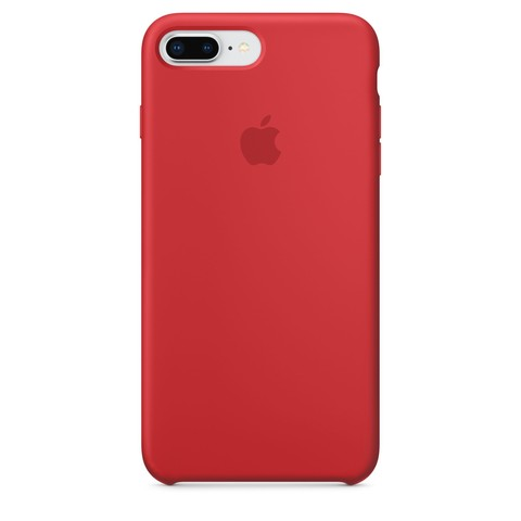 Чехол IP6 PLUS Silicone Case Red