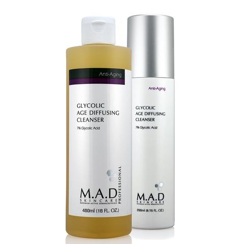 Гель очищающий с 7% гликолевой кислотой предотвращающий старение кожи Glycolic Age Diffusing Cleanser, 480 мл.