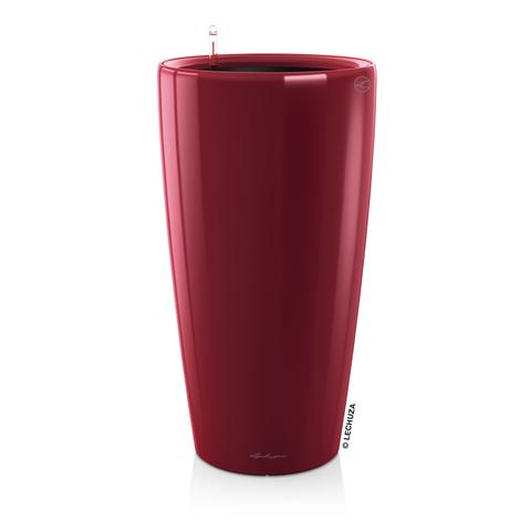 15759 Кашпо LECHUZA Рондо 40 Красное с системой полива