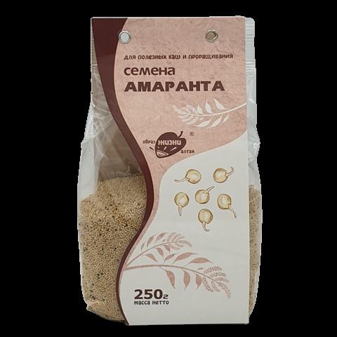 Семена Амаранта для каш и проращивания ОБРАЗ ЖИЗНИ, 250 гр