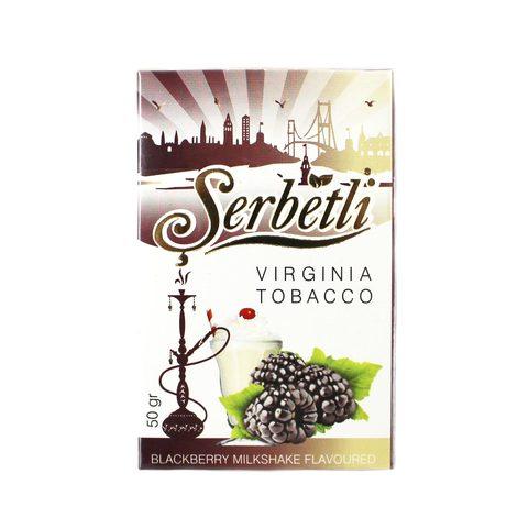 Табак для кальяна Serbetli Blackberry milkshake 50 гр.
