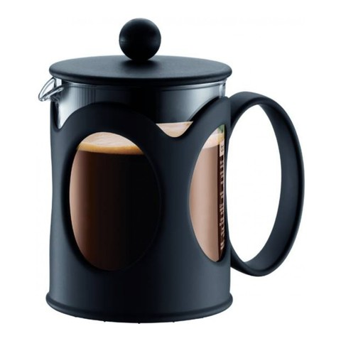 Френч-пресс Bodum Kenya (0,5 литра), черный