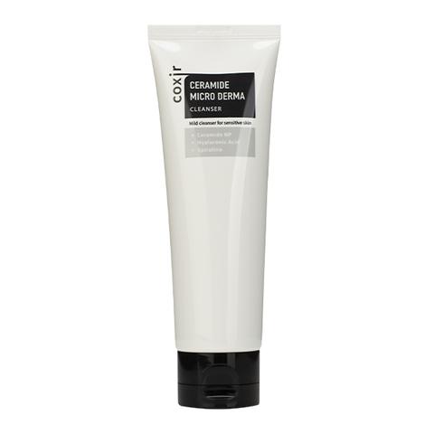 Coxir Пенка для умывания Ceramide Micro Derma Cleanser, 120 мл