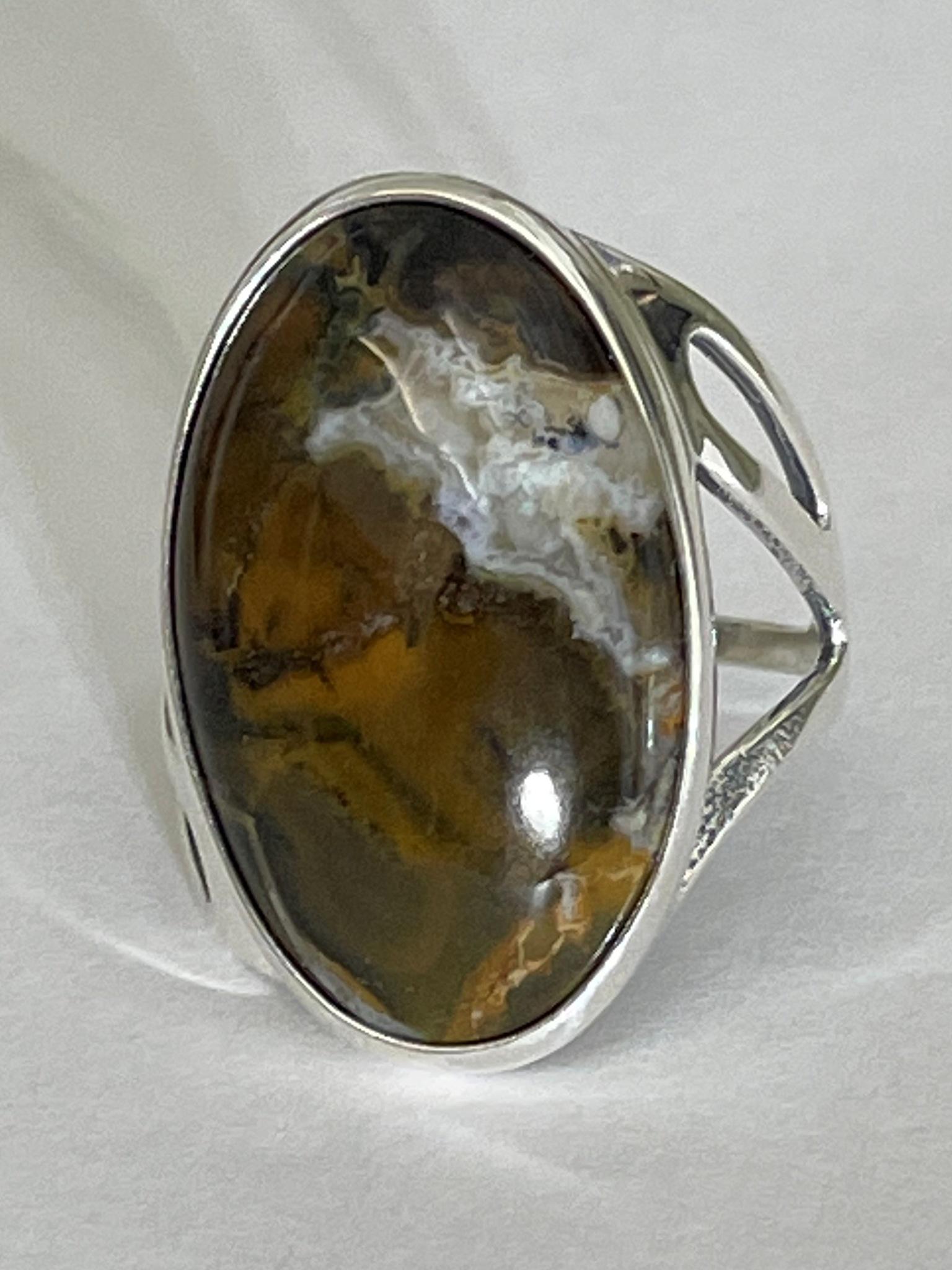 Тироль (кольцо из серебра)
