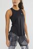 Комплект для бега Craft Lux Black женский - майка, шорты