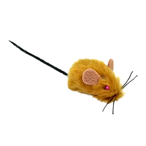 Зооник игрушка мышь меховая 4,5см (1 штука)
