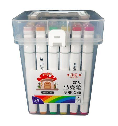 Скетч-маркеры 24 цвета