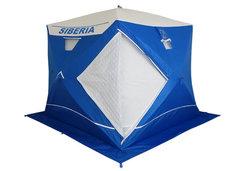 Зимняя палатка куб Пингвин Призма Сиберия Премиум четырехслойная