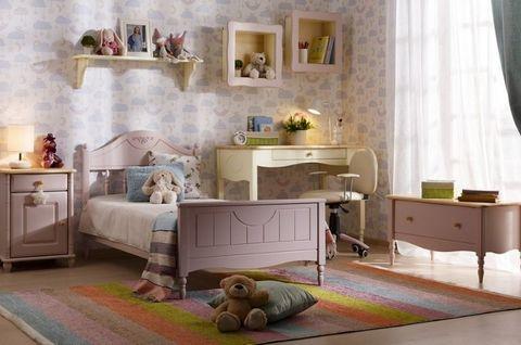 Детская мебель Айно 4 (розовая пастель)