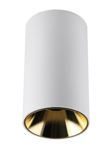 Светильник накладной PDL-R 14080 GU10 WH/GL