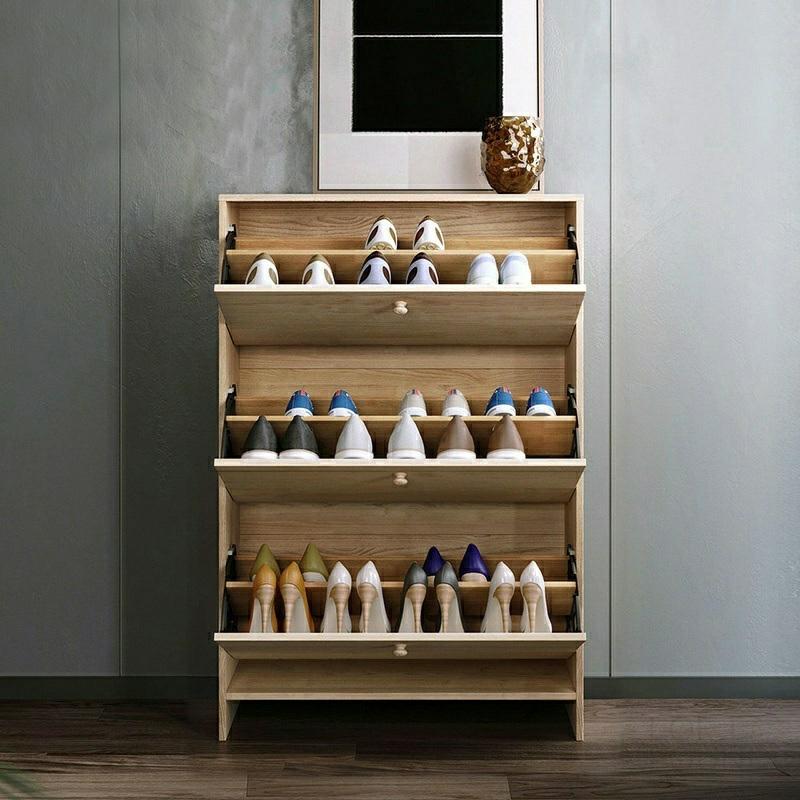 Обувной шкаф Lin Wood