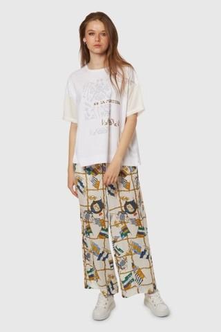 La Martina Лёгкие брюки в яркий принт