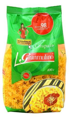 Макаронные изделия  Granmulino  спираль 400г