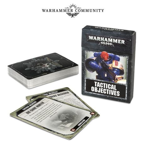 Tactical Objective Cards. 8 редакция