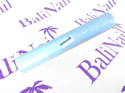 Простынь СМС 200 х 80 см голубой (100шт.) Рулон с перфорацией