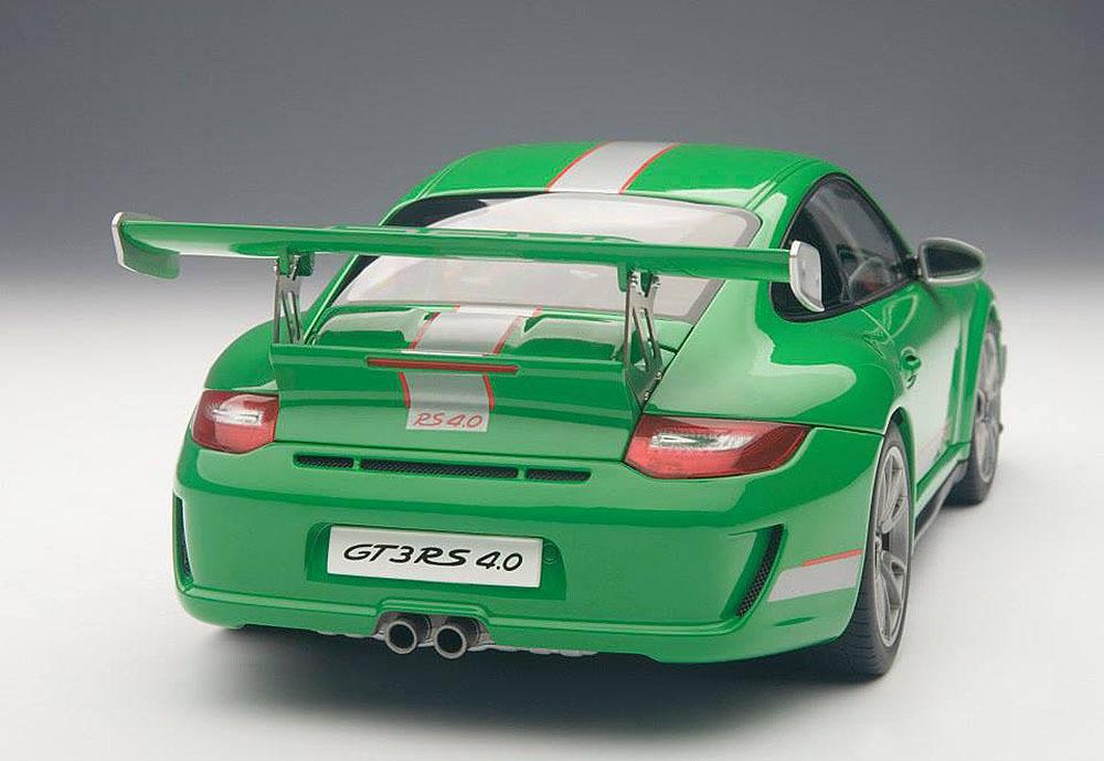 Коллекционная модель Porsche 911 (997) GT3 RS 4.0L 2011 Green