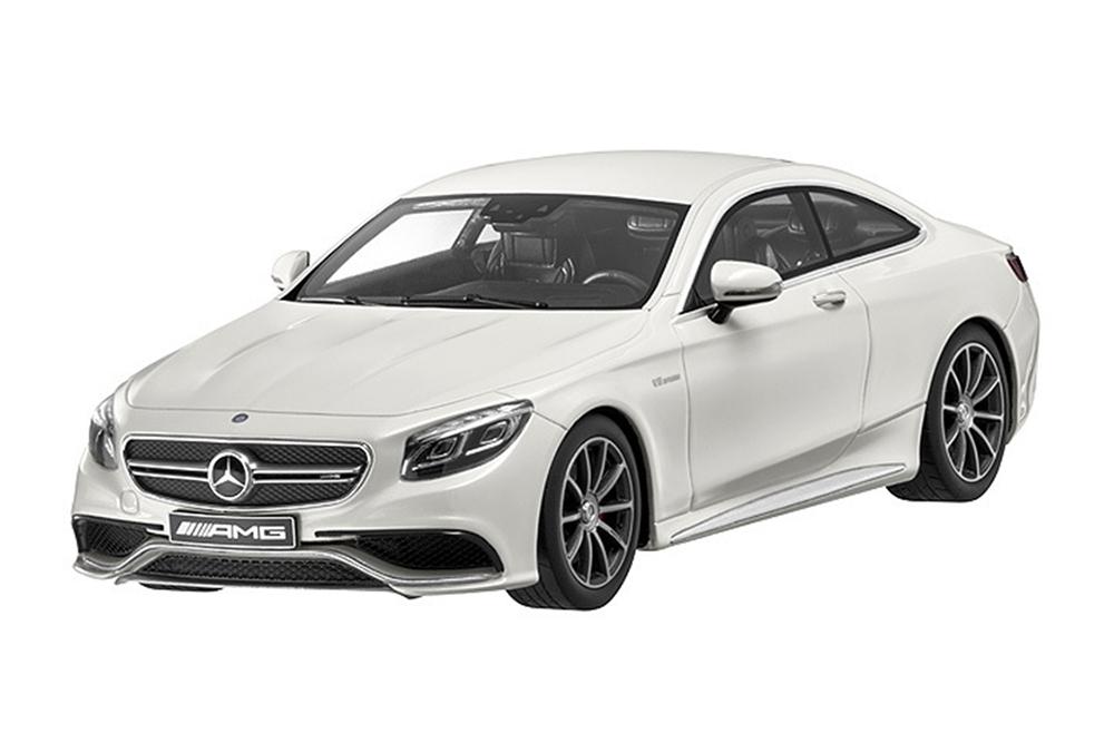 Коллекционная модель Mercedes-Benz W217 S63 AMG Coupe 2015 Diamond White