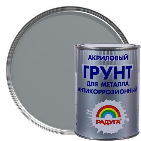 Грунт для металла Радуга вд-ак 0150 цвет серый объем 0.9л, вес 1,287 кг артикул 13119887