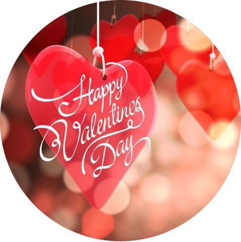 Печать на вафельной бумаге, День Влюбленных 22