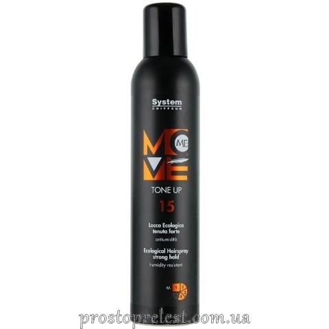 Dikson Move Me 15 Tone Up - Экологический лак для волос