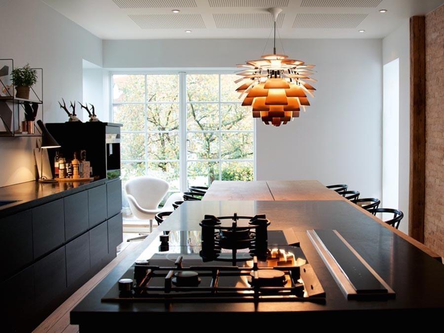 Подвесной светильник PH Artichok by Louis Poulse D60 (черный)