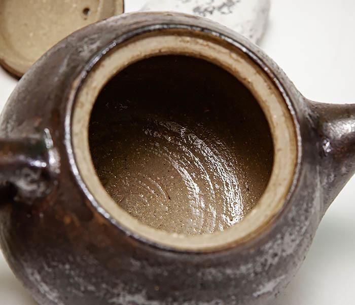 POT101 Маленький чайник из керамики ручной работы фото 11