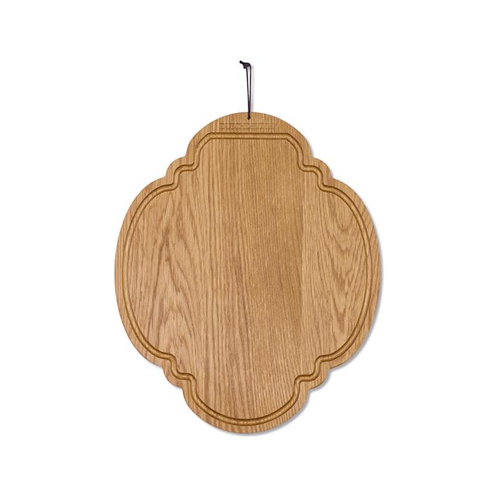 Доска разделочная Breakfast, овальная, Золотой дуб, арт. 550225 - фото 1