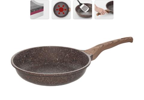 Сковорода с гранитным антипригарным покрытием Greta, 26 см NADOBA
