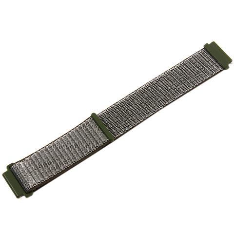 Нейлоновый ремешок COTEetCI W40 Nylon Band (WH5269-GY) для Samsung Galaxy Watch Active 2 20мм (Графитовый)