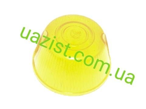 Стекло повторителя поворотов (указателя) Уаз 452, 469, Хантер (жёлтое)