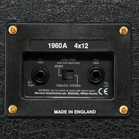 Marshall 1960AV 280W 4X12 mono/stereo angled
