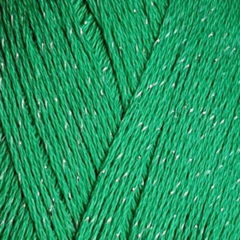 Пряжа Блестящее лето Пехорка 480 Яркая зелень