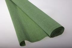 Бумага гофрированная простая фисташковый (562), 50 см./250 см.