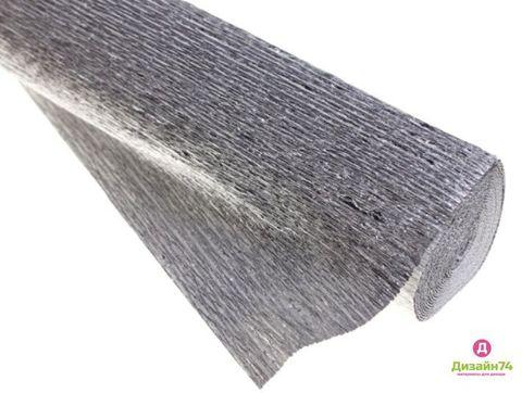 Гофрированная бумага метализированная пр.Италия 180 гр №802