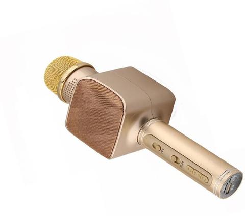 Беспроводной Караоке-Микрофон  YS-68 Magic Karaoke золотой