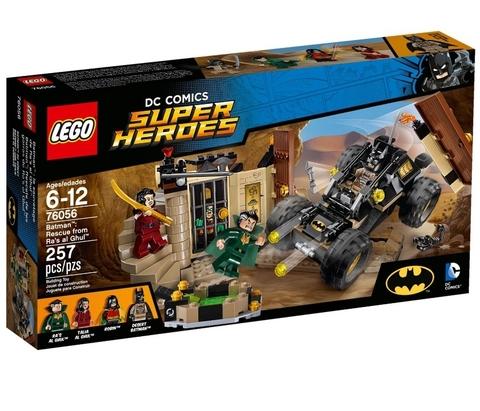 LEGO Super Heroes: Бэтмен: Спасение от Ра'с аль Гула 76056 — Batman: Rescue from Ra's al Ghul — Лего Супергерои ДиСи