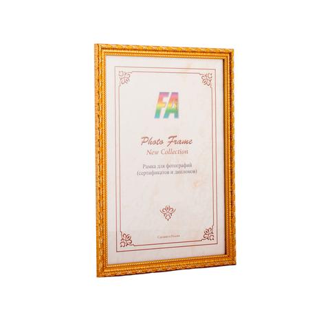 Фоторамка Камышок 10х15 Формат-А (золото)