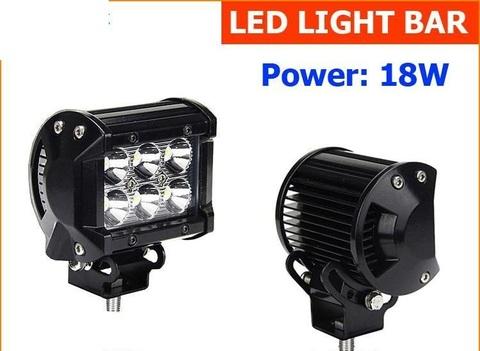 Светодиодная LED фара рабочего света 18W SM-930F
