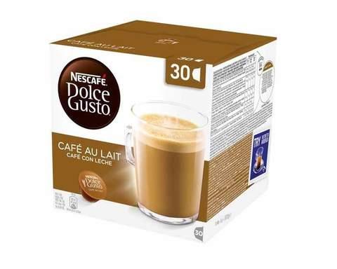 Кофе в капсулах Dolce Gusto Espresso Cafe au Lait, 16 капсул