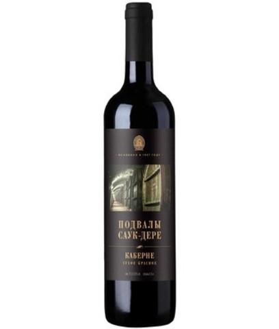 Вино Подвалы Саук-Дере Каберне, 0.75 л