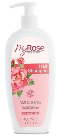 Шампунь для волос My Rose OF BULGARIA, 400 мл.