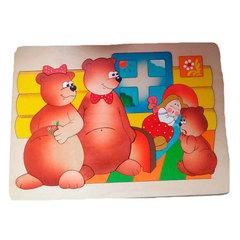 Мозаика-вкладыш Три медведя, Крона