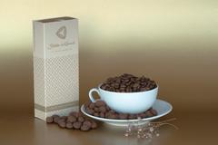 Кофейные зерна в молочном шоколаде 150 г, Чехия