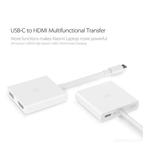 XiaoMI Переходник с USB Type-C на HDMI /white/