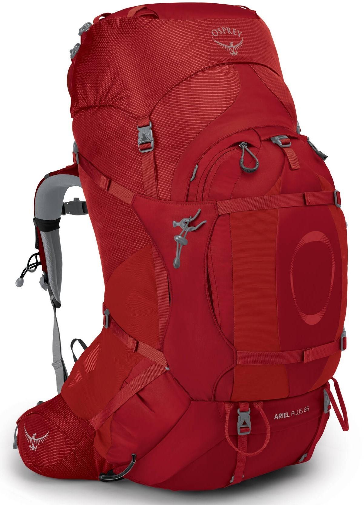 Туристические рюкзаки Рюкзак женский туристический Osprey Ariel Plus 85 Carnelian Red Ariel_Plus_85_S21_Side_Carnelian_Red_web.jpg