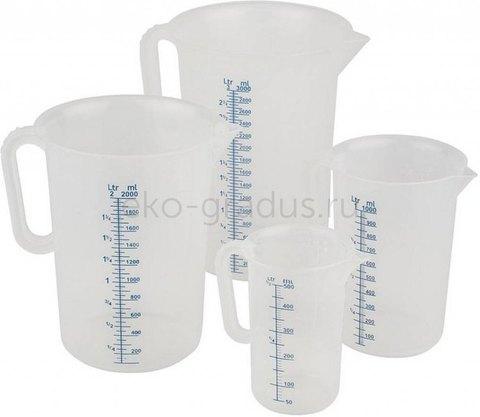 Мерный стакан 2л./5л. пластик