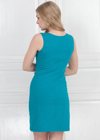 Платье ПХ03 изумруд для кормящих