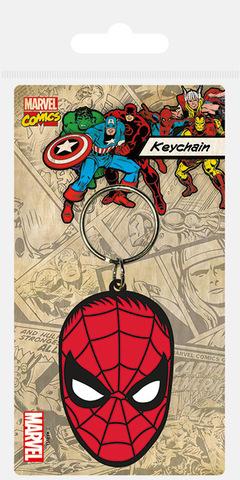 Брелок силиконовый «Человек-паук (лицо)»